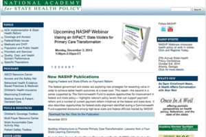 National Academy State Health Policy
